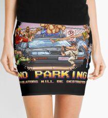 No Parking Violators will be Destroyed Mini Skirt