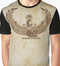 Papiro Isis - Arte Egipcio Camiseta gráfica
