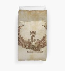 Isis Papyrus - Egyptian Art Duvet Cover