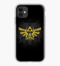 Hyrule Emblem Yellow iPhone Case