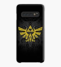 Hyrule Emblem Yellow Case/Skin for Samsung Galaxy