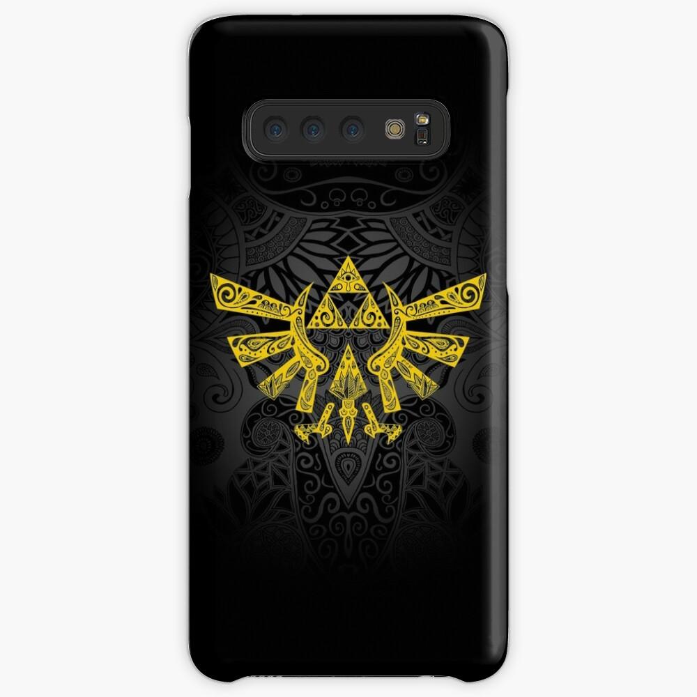 Hyrule Emblem Yellow Case & Skin for Samsung Galaxy