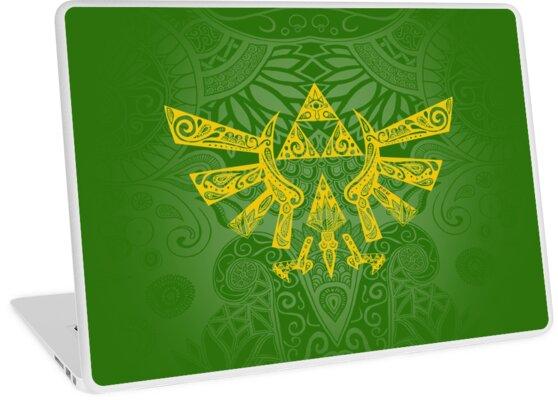 «Emblema Hyrule Amarillo» de artetbe