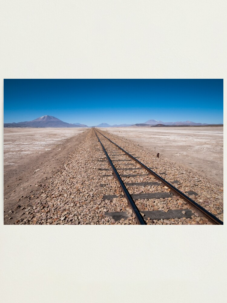 Alternate view of Railroad to Nowhere Photographic Print