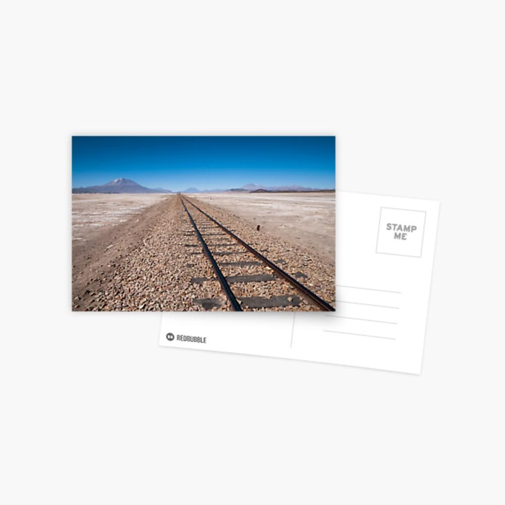 Railroad to Nowhere Postcard