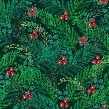 The emerald ferns.  by TrishaMcmillan