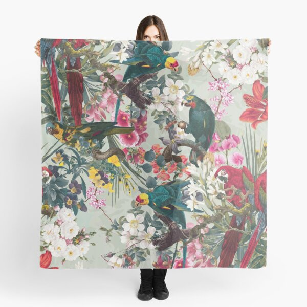 FLORAL AND BIRDS XXII Scarf