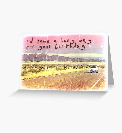 Volkswagen Kombi Greeting Card - Happy Birthday  Greeting Card