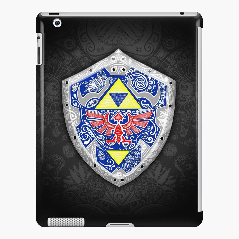 Zelda - Link Shield Doodle Funda y vinilo para iPad