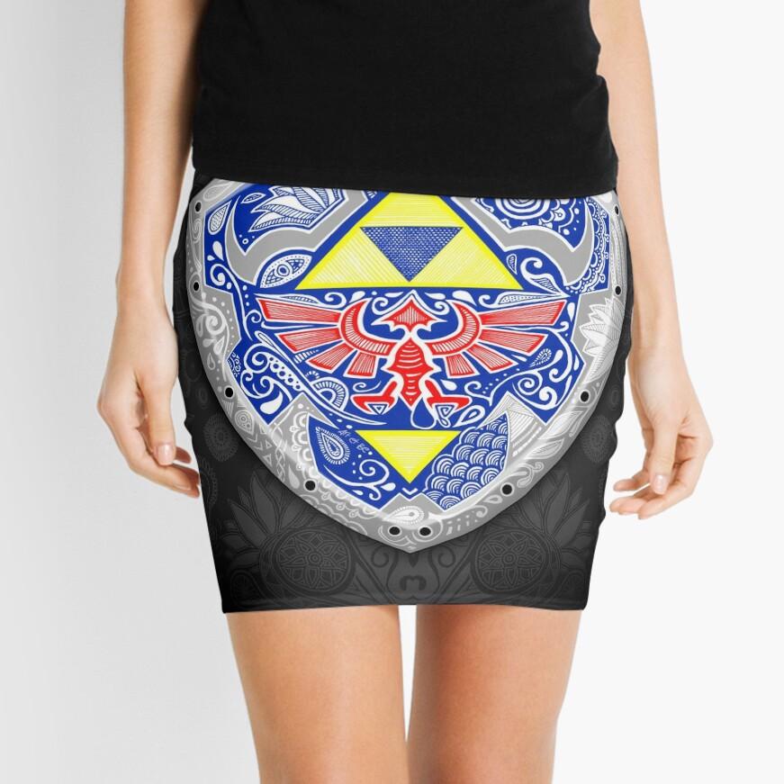 Zelda - Link Shield Doodle Minifalda