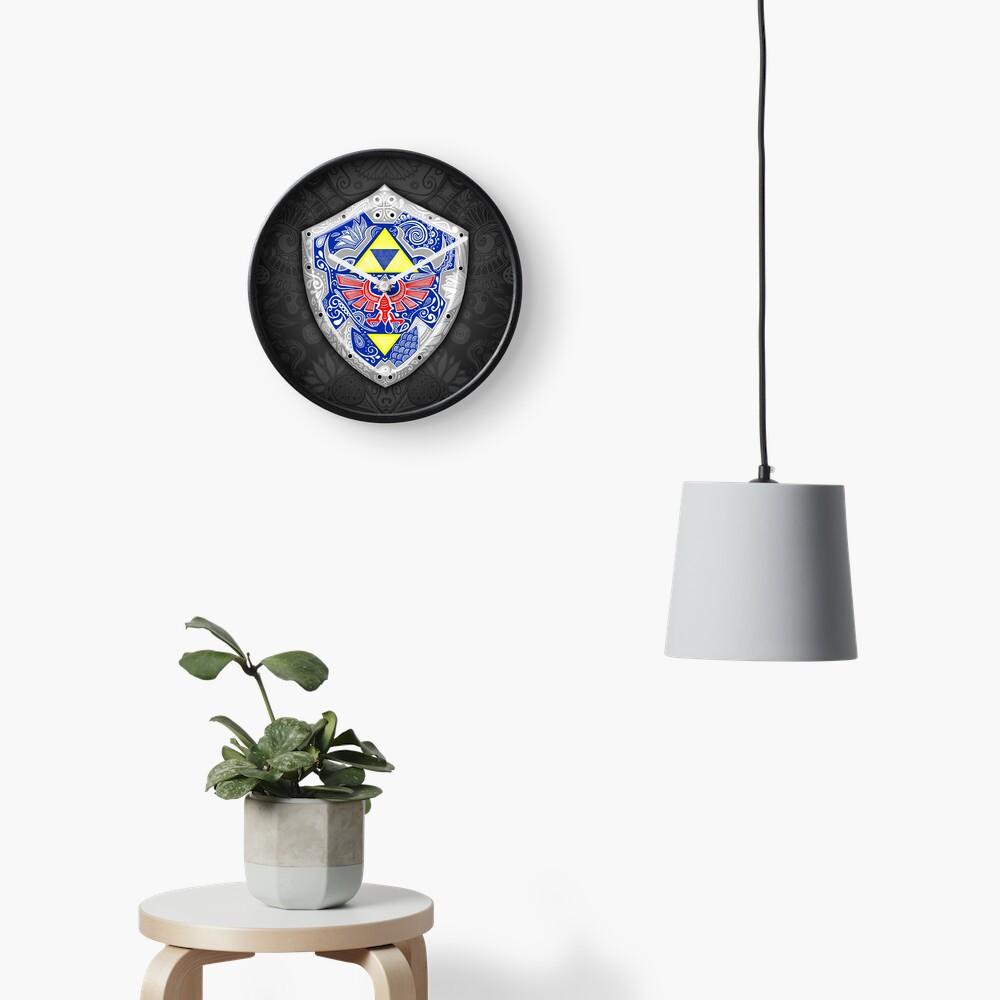 Zelda - Link Shield Doodle Reloj