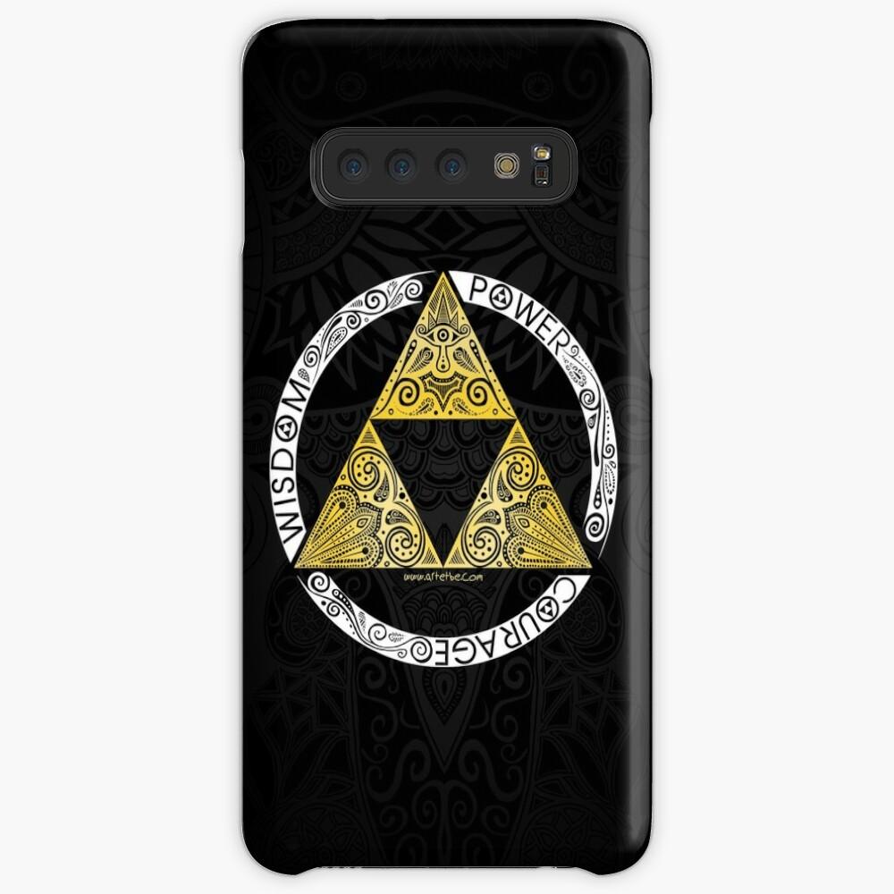 Zelda Triforce circle iphone case