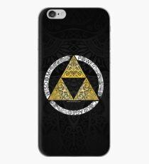 Zelda - Triforce circle iPhone Case