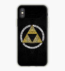 Vinilo o funda para iPhone Zelda - Círculo de la Trifuerza