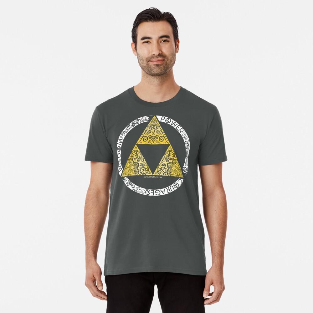 Zelda - Triforce circle Premium T-Shirt
