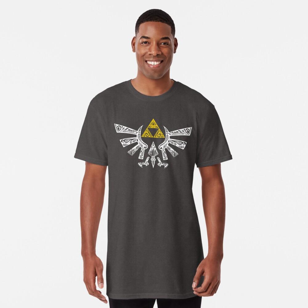 Zelda - Hyrule Gekritzel Longshirt