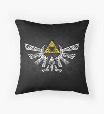 Zelda - Hyrule Gekritzel Sitzkissen