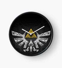 Zelda - Hyrule Gekritzel Uhr