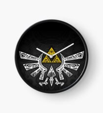 Zelda - Hyrule doodle Clock
