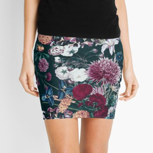 EXOTIC GARDEN - NIGHT XVIII Mini Skirt