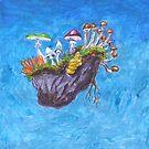 Die Fliegende Insel von MushroomOTD