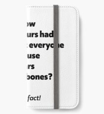 It's a rock fact! #2 iPhone Wallet/Case/Skin