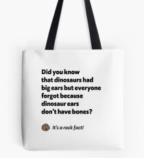 It's a rock fact! #2 Tote Bag