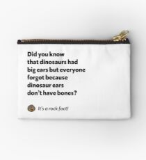 It's a rock fact! #2 Studio Pouch