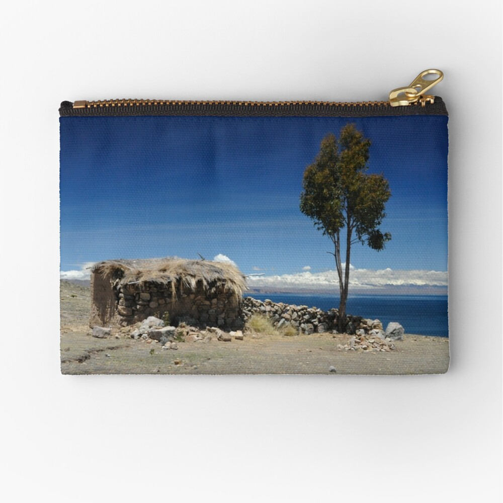 Room with a View Zipper Pouch