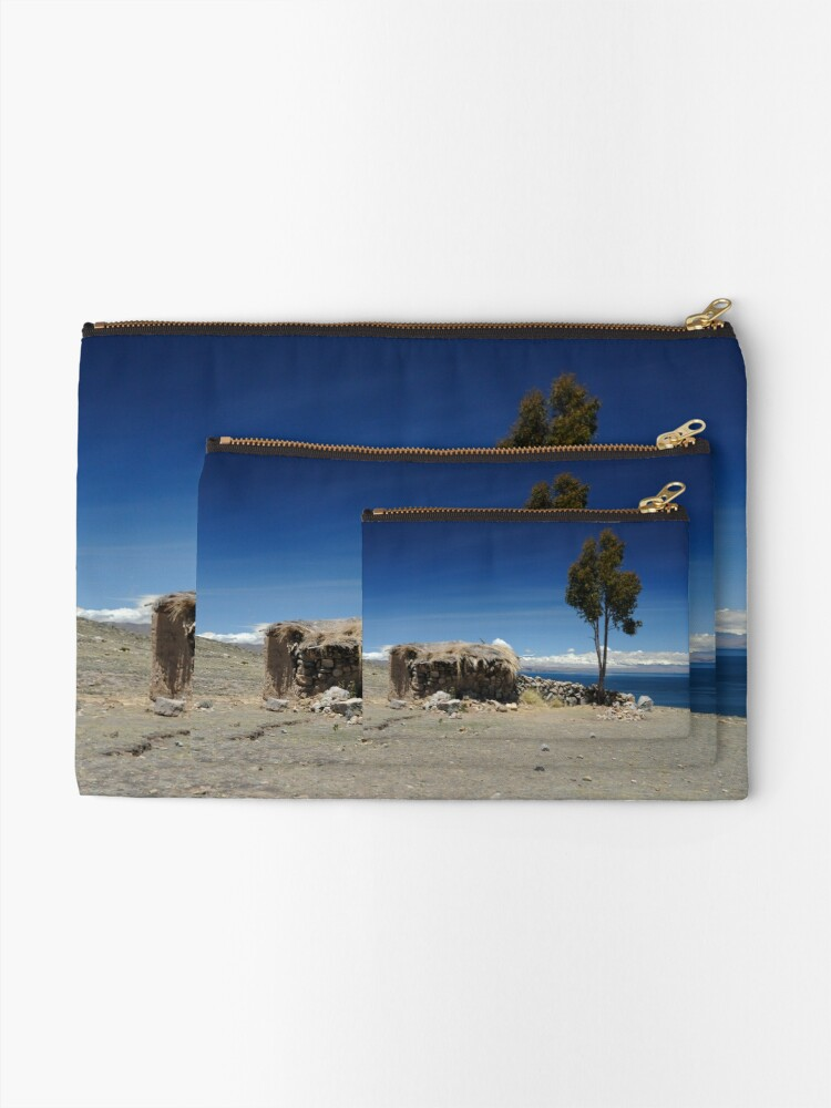 Alternate view of Room with a View Zipper Pouch
