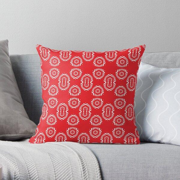 #Ornament, #ornamentation, #form, #shape, #mold, #uniform, #format, #decor Throw Pillow