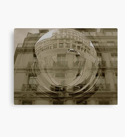 Paris Reflections Canvas Print