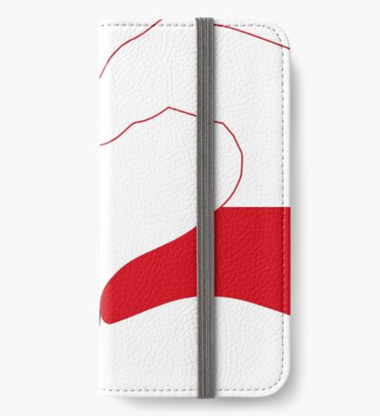 We Heart Jamaica and Poland Patriot Flag Series iPhone Wallet