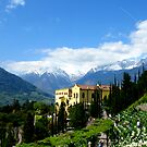 Mountains and Castle - And the Empress Sissi by Daidalos