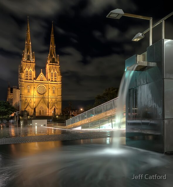 Wet Night on the Edge of the City by Jeff Catford