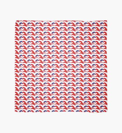 We Heart U.S.A. and China Patriot Flag Series Scarf