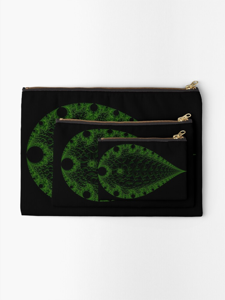 Alternate view of Verdant III Zipper Pouch