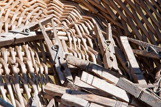 Clothespins by Jaime Pharr