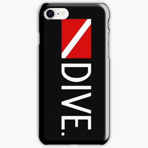 Diving: Diving Flag & Dive. iPhone Snap Case