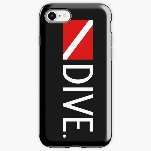 Diving: Diving Flag & Dive. iPhone Tough Case