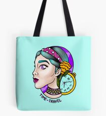 TIME-Travel Tote Bag