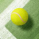 BALLS / Tennis (Grass Court) von Daniel Coulmann