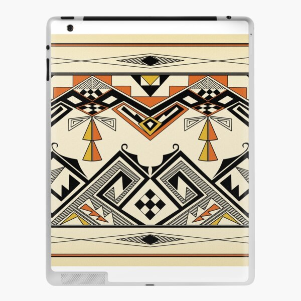 Southwest Two Flowers iPad Skin