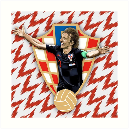 e2a156ff6 Luka Modric of Real Madrid and Croatia national team