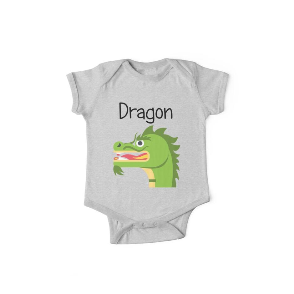 Fiery Green Dragon by EclecticWarrior