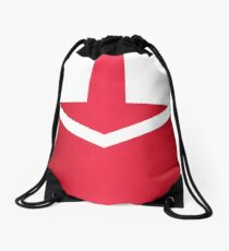 Time Force Red Drawstring Bag