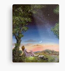 The Astronomy picnic Metal Print