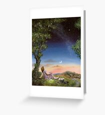 The Astronomy picnic Greeting Card