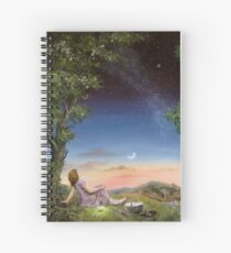 The Astronomy picnic Spiral Notebook