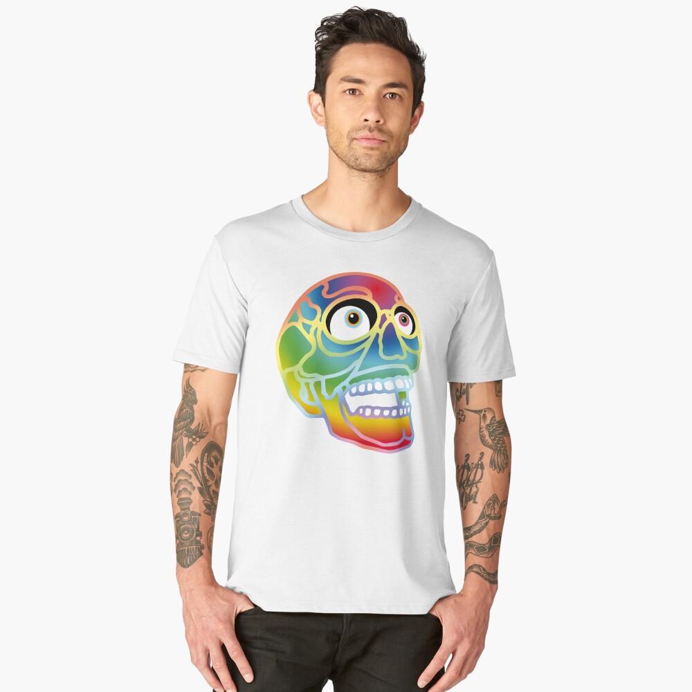 Pride Skull Men's Premium T-Shirt Front